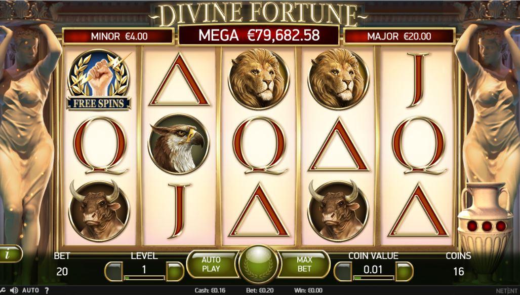 สล็อต divine fortune